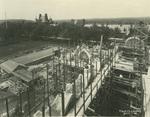 Trinity College Chapel construction, June 2, 1931