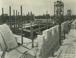 Trinity College Chapel construction, June 29, 1931