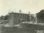 Trinity College Chapel construction, June 29, 1931