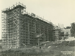 Trinity College Chapel construction, August 3, 1931