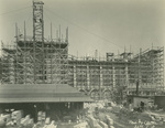 Trinity College Chapel construction, September 1, 1931