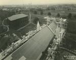 Trinity College Chapel construction, November 2, 1931