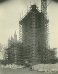Trinity College Chapel construction, November 2, 1931