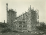 Trinity College Chapel construction, December 1, 1931