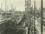 Trinity College Chapel construction, March 2, 1931