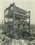 Trinity College Chapel construction, December 1, 1931