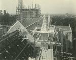 Trinity College Chapel construction, October 1, 1931