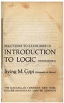 Solutions to Exercises in Introduction to Logic, Fourth Edition