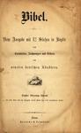 Bibel by Haendcke & Lehmkuhl