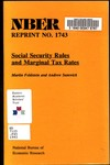 Social security rules and marginal tax rates
