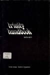 The Trinity College Handbook, 1970-71 by Trinity College