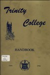 The Trinity College Handbook, 1955-56 by Trinity College