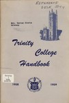 The Trinity College Handbook, 1958-59 by Trinity College