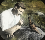 Joe Austin and Ruffed Grouse, Storrs, Connecticut