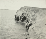 Red Sandstone Cliffs, Coffin Island, Magdalen Islands [Quebec]