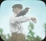 """Jim"" Crow and Hersey, at Camp, N. Manitoba by Herbert Keightley Job"