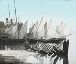Scene at Grand Entry, Magdalen Islands [Quebec] by Herbert Keightley Job