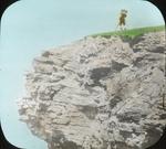 Northeast End of Great Bird Rock and H. K. Job [Henry Keightley Job], Magdalen Islands [Quebec]