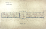 Trinity College, Students Rooms [Jarvis Hall, Long Walk]: Basement Floor [Plan]