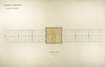 Trinity College, Students Rooms [Jarvis Hall, Long Walk]: Third Floor [Plan]
