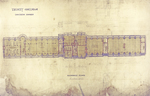 Trinity College, Lecture Rooms [Seabury Hall, Long Walk]: Basement Floor by Francis Hatch Kimball