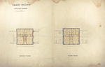 Trinity College, Lecture Rooms [Seabury Hall, Long Walk]: Central Portion: Second Floor; Third Floor by Francis Hatch Kimball