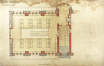 Trinity College, Lecture Rooms [Seabury Hall, Long Walk]: Ground Floor: Library