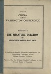 The Shantung question