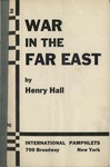 War in the Far East by Henry Hall