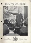 Trinity College Alumni News, February 1947 by Trinity College