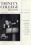 Trinity College Bulletin, December 1955 by Trinity College