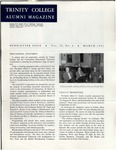 Trinity College Alumni Magazine, March 1961