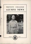 Trinity College Alumni News, November 1944 by Trinity College