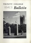Trinity College Bulletin, November 1950 by Trinity College
