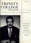 Trinity College Bulletin, November 1952