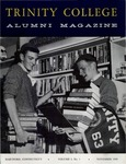 Trinity College Alumni Magazine, November 1959 by Trinity College
