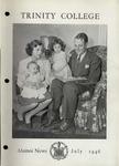 Trinity College Alumni News, July 1946 by Trinity College