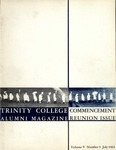 Trinity College Alumni Magazine, July 1964 by Trinity College
