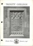 Trinity College Alumni News, January 1946 by Trinity College