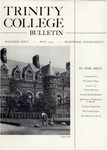 Trinity College Bulletin, May 1955 by Trinity College