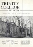 Trinity College Bulletin, May 1957 by Trinity College