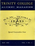 Trinity College Alumni Magazine, May 1960 by Trinity College