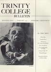 Trinity College Bulletin, February 1955 by Trinity College
