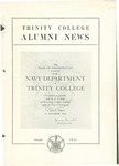 Trinity College Alumni News, October 1945 by Trinity College