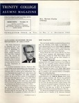 Trinity College Alumni Magazine, October 1962 by Trinity College