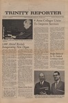 Trinity Reporter, January 1972 by Trinity College