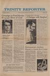 Trinity Reporter, March 1972