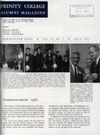 Trinity College Alumni Magazine, July 1961 by Trinity College