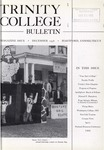 Trinity College Bulletin, December 1956 by Trinity College