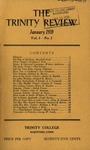The Trinity Review, January 1939 by Trinity College